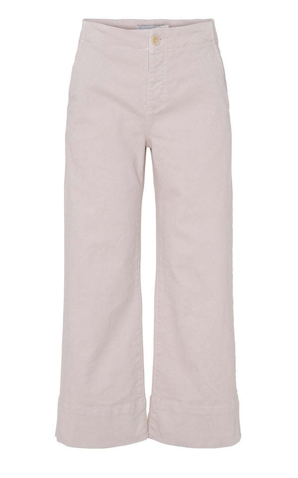 Blanche Action Pants Wide Leg Jeans aus Bio-Baumwolle in Rose-Beige