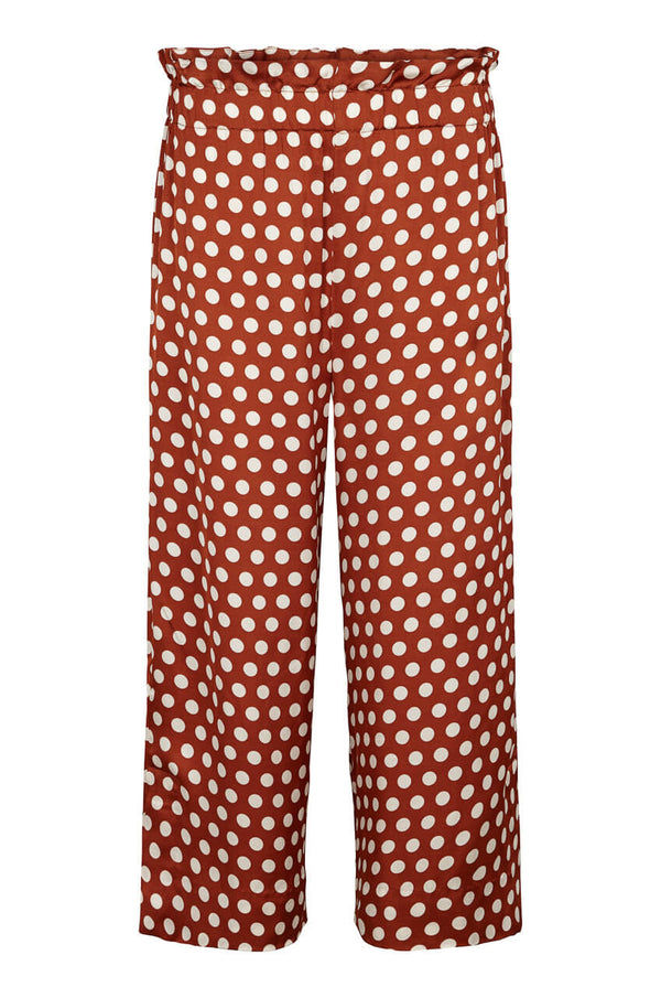 Second Female Spotty Highwaist Culotte Hose aus Viskose mit Polkadots
