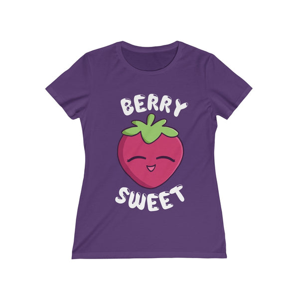 """Berry Sweet"" Women's Missy Tee"