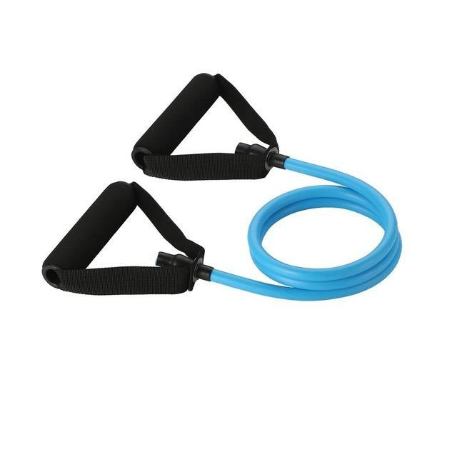 Resistance Tubes - 120cm Resistance Bands, Fitness Workout Exercise Tubes, Premium Quality Rubber Latex - Fit Sports