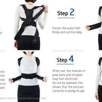 Posture Corrector Spine and Back Support Providing Pain Relief for Neck Back Shoulders Adjustable Breathable Back Brace Unisex-Body Support-Fit Sports