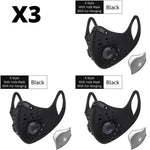 N95 Dust Face Mask - Great For Cycling Jogging Running Mowing Or Other Outdoor Activities-Bike Accessories-Fit Sports