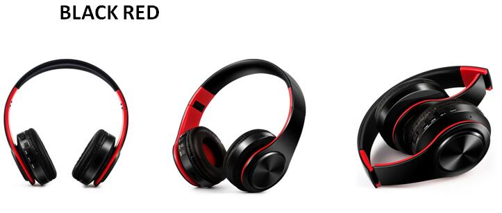 Bluetooth Headphones Wireless Headset with Microphone FM Radio MP3 Player Noise Cancelation Soft Comfortable-Bluetooth Headphones & Accessories-Fit Sports