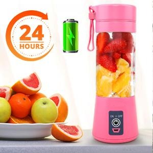 Portable Blender Cordless 6 Blade Powerful Blender 220V / 20000 RPM USB Rechargeable Great For Healthy Smoothies-Blenders & Kitchen Accessories-Fit Sports