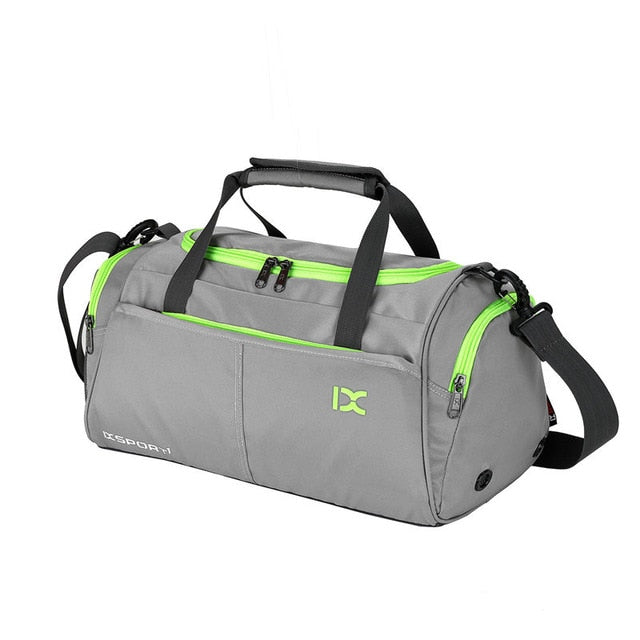 Quality Fitness Sports Bag, With Cross body Shoulder Strap, Shoe Compartment Waterproof Unisex-Fitness Accessories-Fit Sports