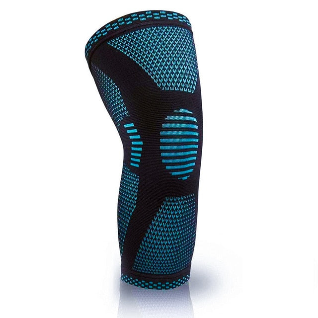 Knee Compression Sleeve Knee Brace for Pain Supports Running Basketball Weightlifting Gym Workout Sports Unisex-Body Support-Fit Sports