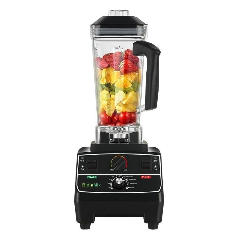 3 HP / 2200W Blender BPA Free 68oz Container Variable Speed Or Preset Settings 8 Blade Stainless Steel-Blenders & Kitchen Accessories-Fit Sports