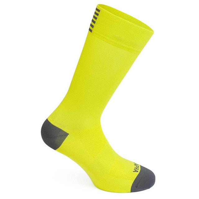 High Quality Compression Socks, Breathable, Great For Sports, Outdoor Activities, Cycling - 2 Sizes - Fit Sports