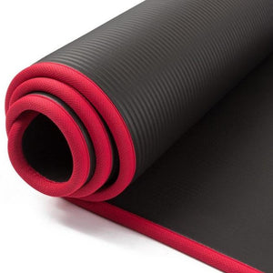 "Fit Sports Comfortable Yoga Mat - 0.5""/1.26cm Thick, High Density, Anti-Tear With Carrying Strap-Fitness Accessories-Fit Sports"