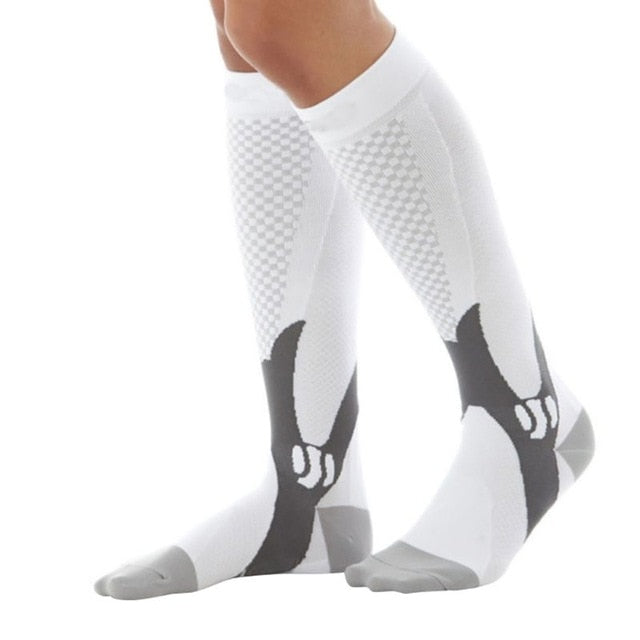 Graduated Compression Socks For Recovery Performance And Firm Support Unisex-Body Support-Fit Sports
