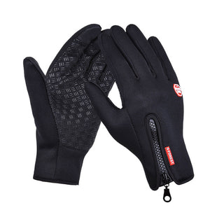 Excellent Quality Touchscreen Thermal Gloves - Great For, Cycling, Skiing, Camping, Hiking-Bike Accessories-Fit Sports