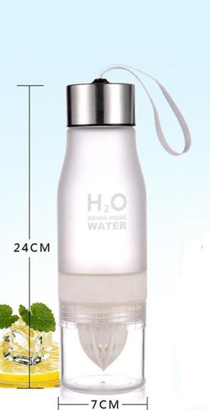 650ml Portable Lemon Juice Infuser Water Bottle Great For Many Outdoor Activities-Fitness Accessories-Fit Sports