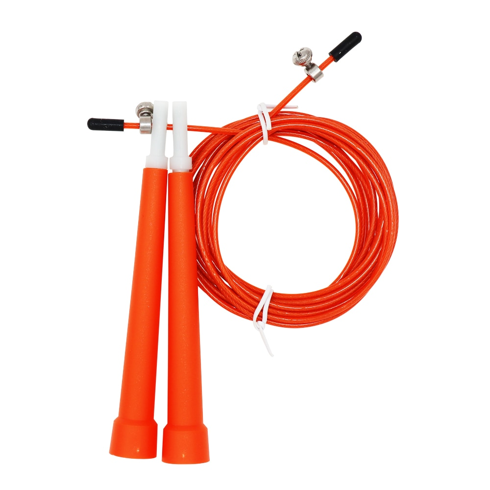 Jump Rope, Adjustable, For Fast Skipping, Great For Endurance And Staying Fit - 9.75'/3M Long - Fit Sports