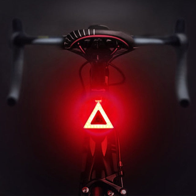 Bright Tail Led Bike Safety light, 5 Modes, USB Charge-Bike Accessories-Fit Sports