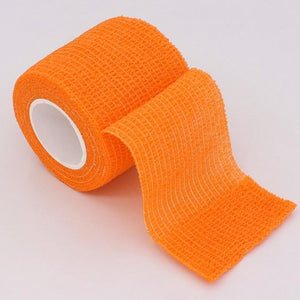 "Self-Adherent Sports Bandage Wrap, Self-Adherent Tape 16 Colors, 1,2,3,4""-2.5,5,7.5,10CM Wide x 15'/4.6M-Fitness Accessories-Fit Sports"