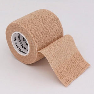 "Self-Adherent Sports Bandage Wrap, Self-Adherent Tape 16 Colors, 1,2,3,4""-2.5,5,7.5,10CM Wide x 15'/4.6M - Fit Sports"