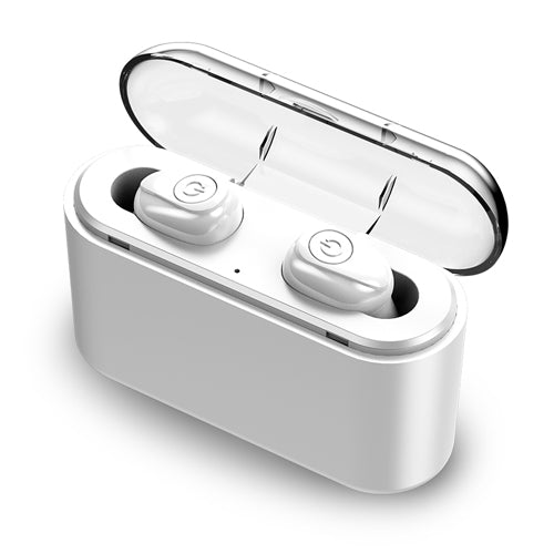 Wireless Earbuds 5D Stereo X8 Bluetooth Earphones Mini TWS Waterproof Headfrees with 2200mAh Power Bank Earphones-Bluetooth Headphones & Accessories-Fit Sports