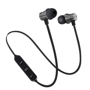 Fit Sports Magnetic Bluetooth Earphones - Waterproof, in-ear with Mic, iPhone, Samsung, And Other Wireless Devices-Bluetooth Headphones & Accessories-Fit Sports