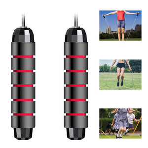 Jump Rope Tangle Free with Ball Bearings Rapid Speed Jump Rope Crossfit Exercise Fitness Workout Equipment Skipping Rope-Fitness Accessories-Fit Sports