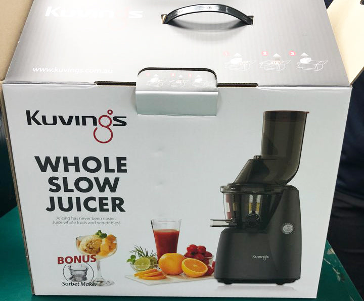 Kuvings B8000 Domestic Cold Press Juicer (Grey)