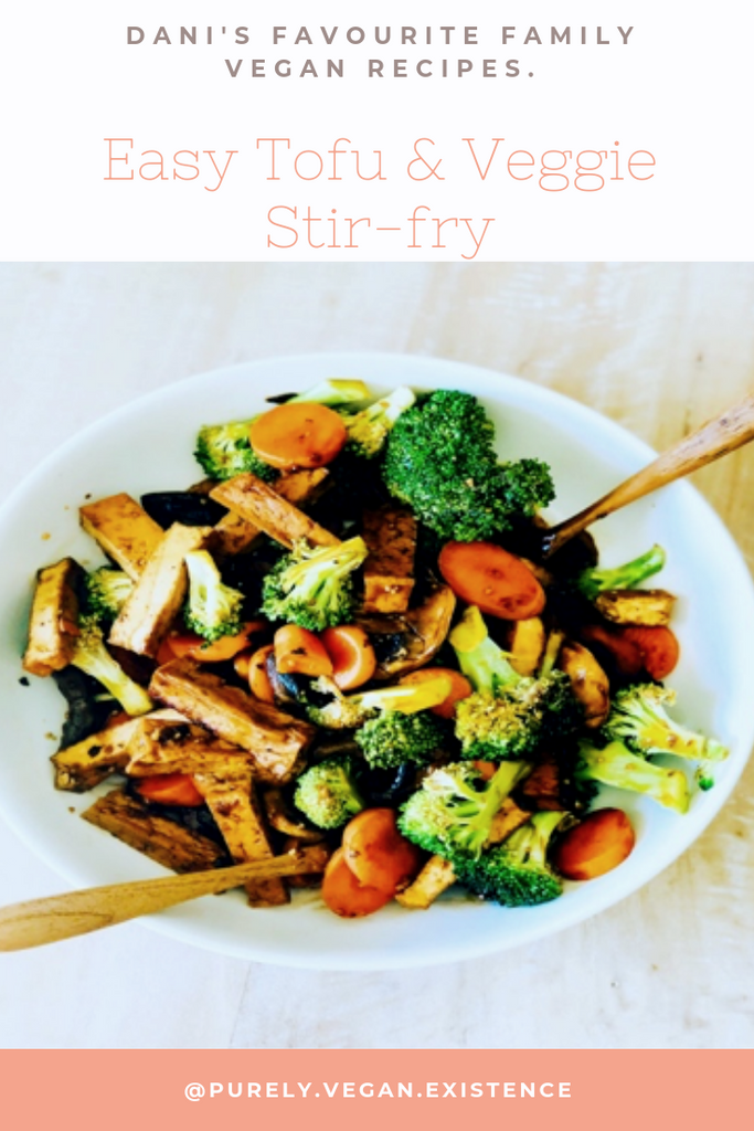 Vegan stir fry | vegan tofu stir fry recipe | tofu dinner recipe | easy vegan dinner recipes