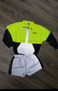 Lime Light Reflector Short Set