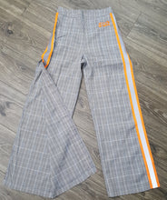 Load image into Gallery viewer, Women's Plaid/ Reflector  Pants (Orange)