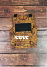 Load image into Gallery viewer, Iconic Vest (Khaki Camo)