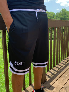 Men Black Basketball Shorts