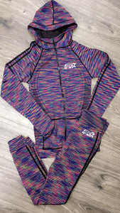Women's Multi- Color Jogger Set