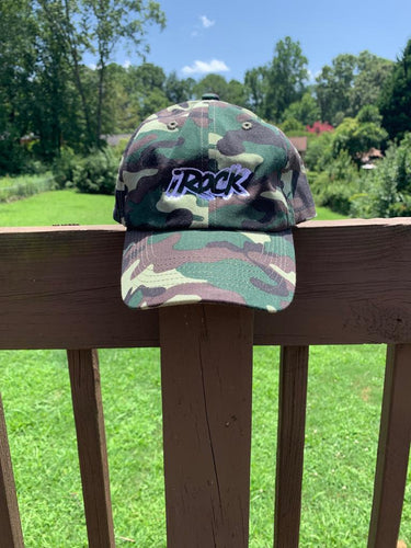 Camo iROCK Dad hat