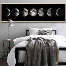 Eclipse of The Moon Wall Art Poster