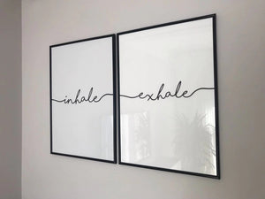 Inhale Exhale Canvas & Wall Art