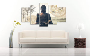 buddha canvas wall art
