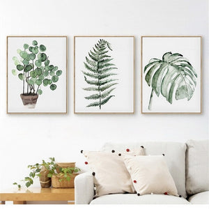 Modern Scandinavian Botanical Wall Art