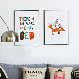 Cute & Simple Painting Print: Kids Room Decor