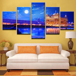 Golden Temple Canvas & Wall Art