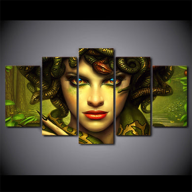 greek mythology medusa canvas wall art