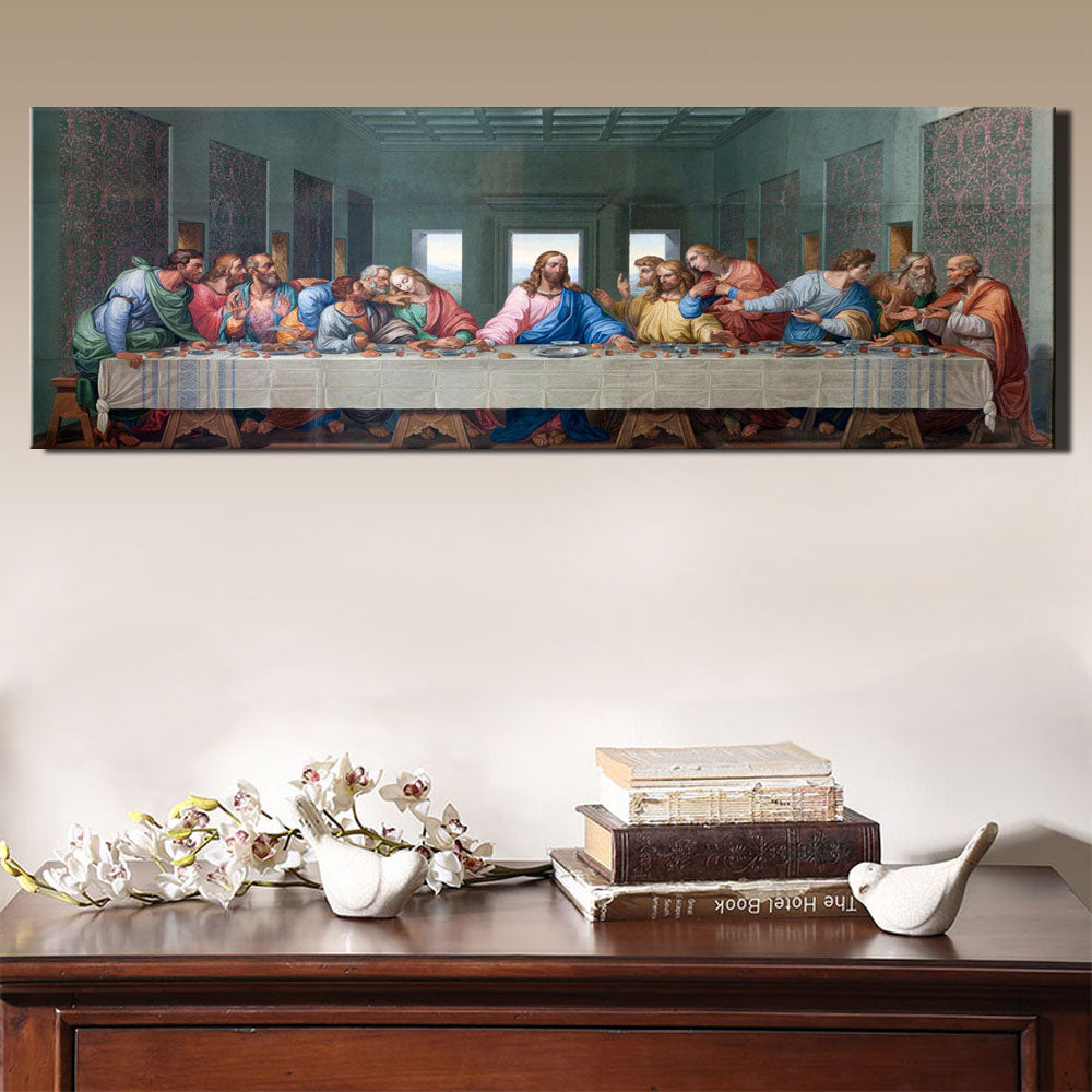 Buy Traditional Last Supper Canvas Wall Art Online Canvas Art