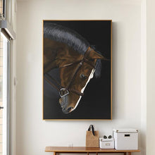 war horse canvas wall art