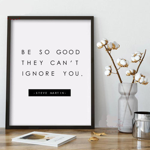 Be so good canvas wall art