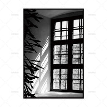 Canvas painting Pictures wall painting art poster Wall print  home decor Black and white picture Wall art print for living room