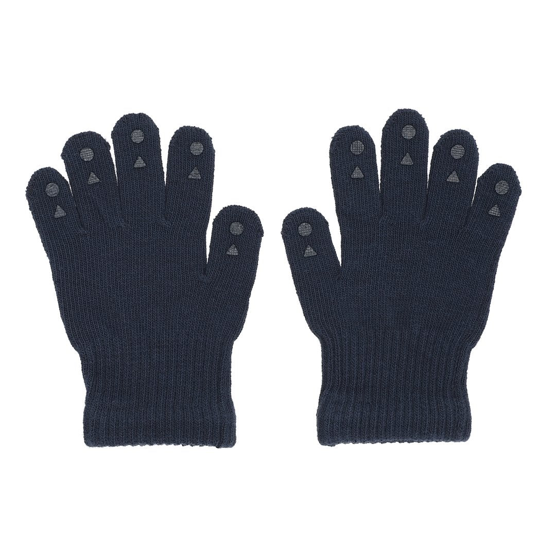 GoBabyGo fingervanter Navy blue blå 1-2 år 2-3 år