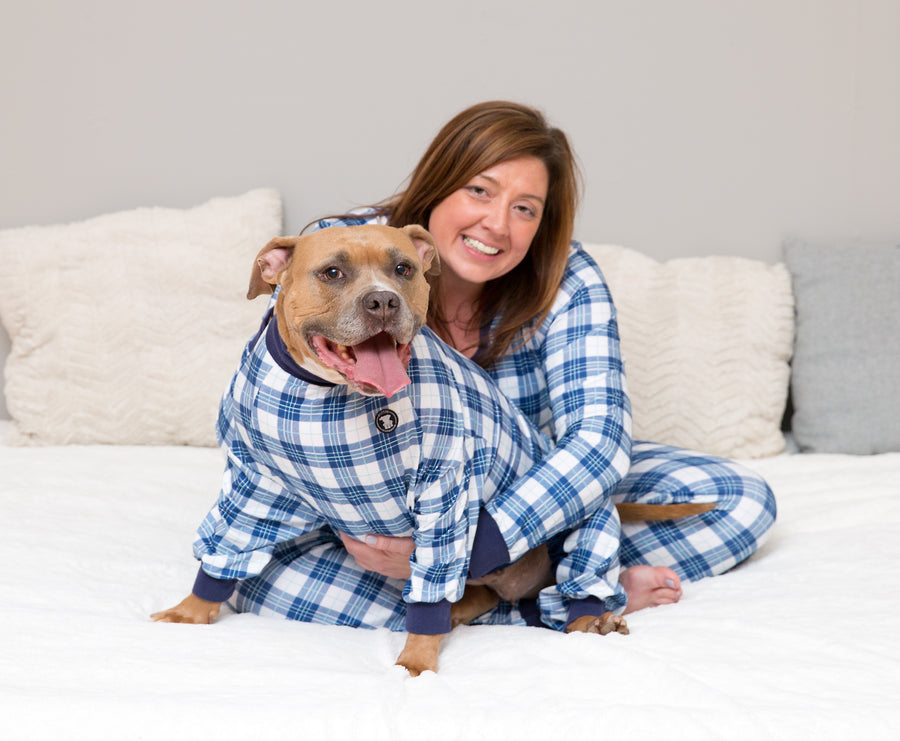 'Perfect in Plaid' Pitbull Pajamas