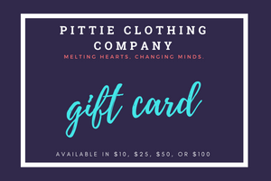 Pittie Clothing Co. Gift Card!