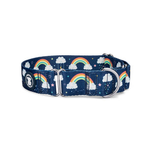 'Chasin' Rainbows' Martingale Dog Collar | Pittie Clothing Co.