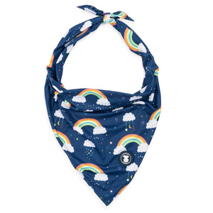 Dog Bandana with Rainbows I Pittie Clothing Co.
