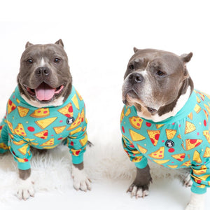 'Stealin' a Pizza Your Heart' Pitbull Pajamas