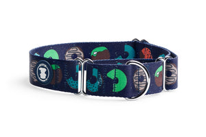 Navy 'You're Driving Me Glazy' Donut Collar