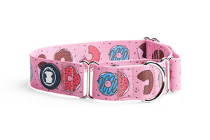 Tickle-Me-Pink Donut Collar